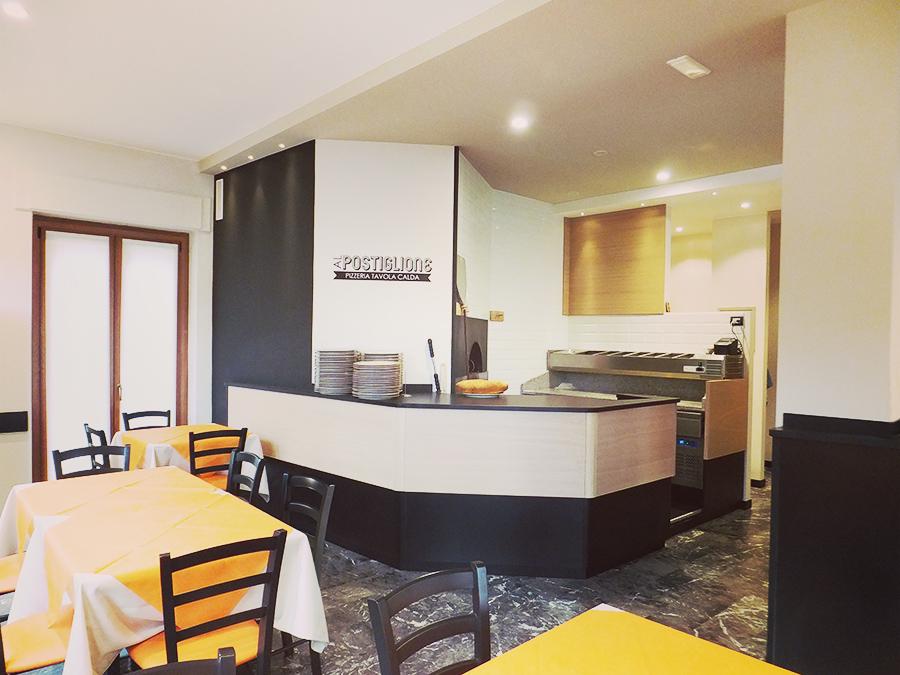 Terdesign progetta locali food bar ristoranti gelaterie for Arredamento pizzeria moderno