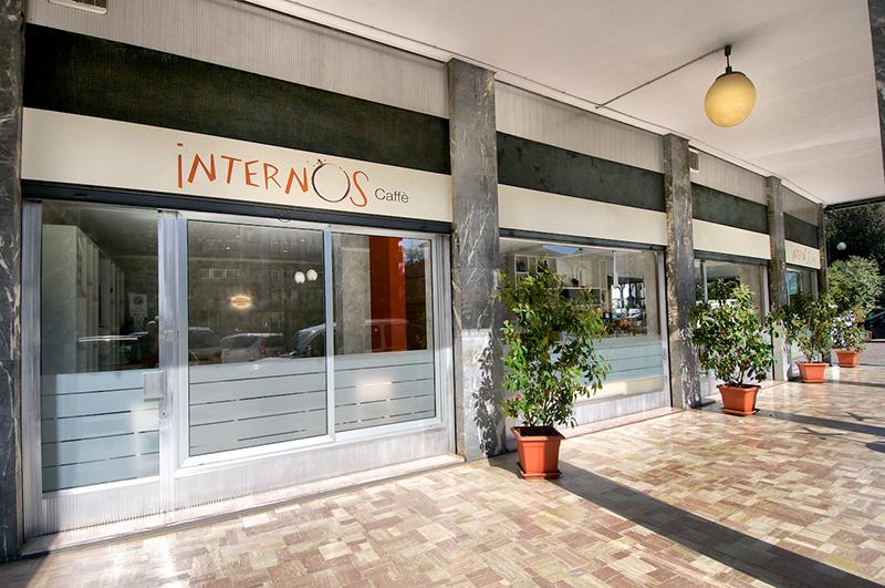 Terdesign progetto internos caff borgosesia for Food bar t zone