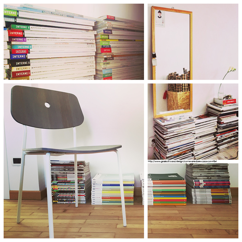 Il blog della ter arredare con le riviste un angolo di casa for Riviste di design