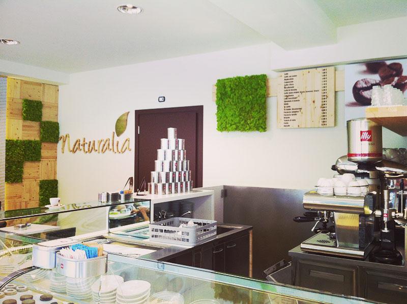 Progetto e arredamento gelateria naturalia asti for Arredamento asti