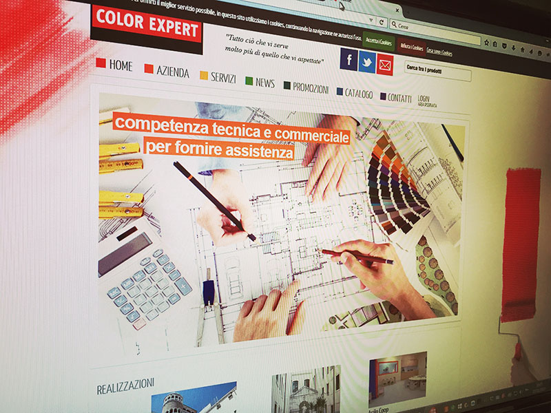Sito Internet Color Expert