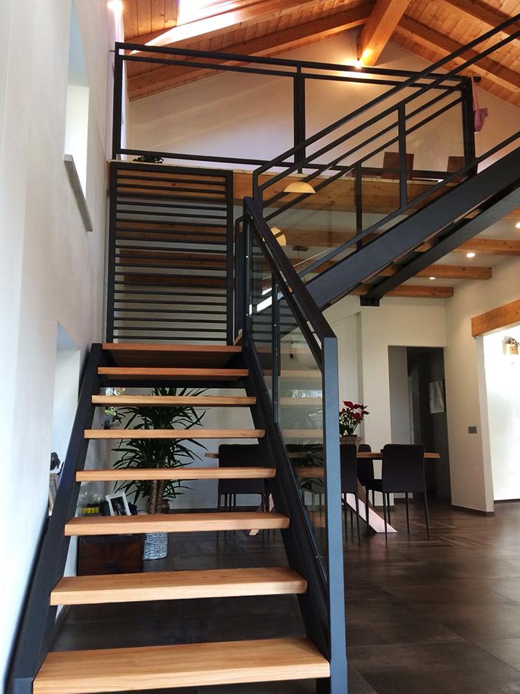 Soppalchi Per Interni Casa.Progettazione Interni Villa Con Soppalco