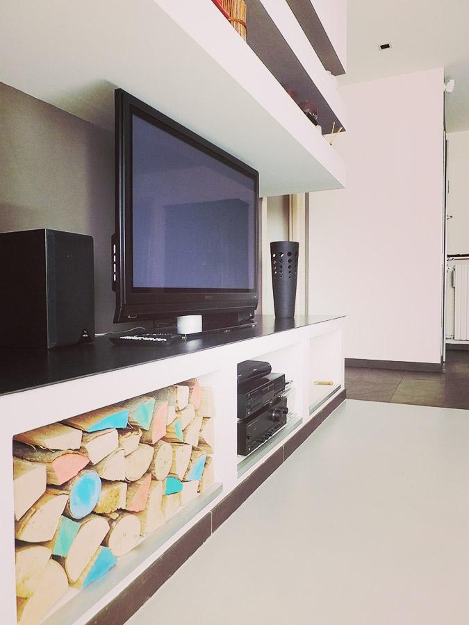Progettazione interni - riprogettazione soggiorno e camera da letto