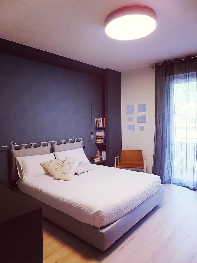 Arredamento: ristrutturazione soggiorno e camera da letto a Borgosesia