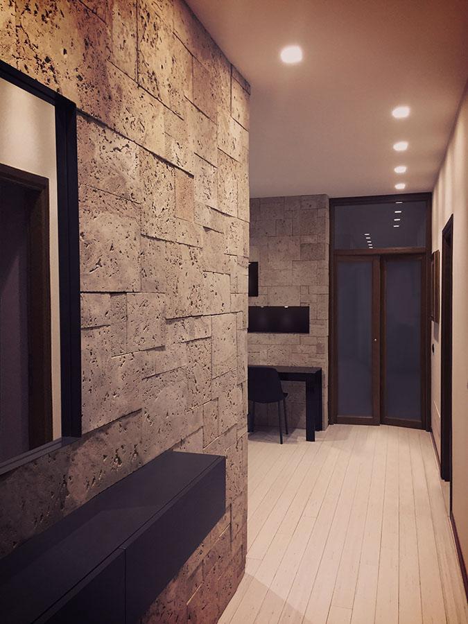 Arredamento ristrutturazione appartamento a novara for Arredamento zona giorno