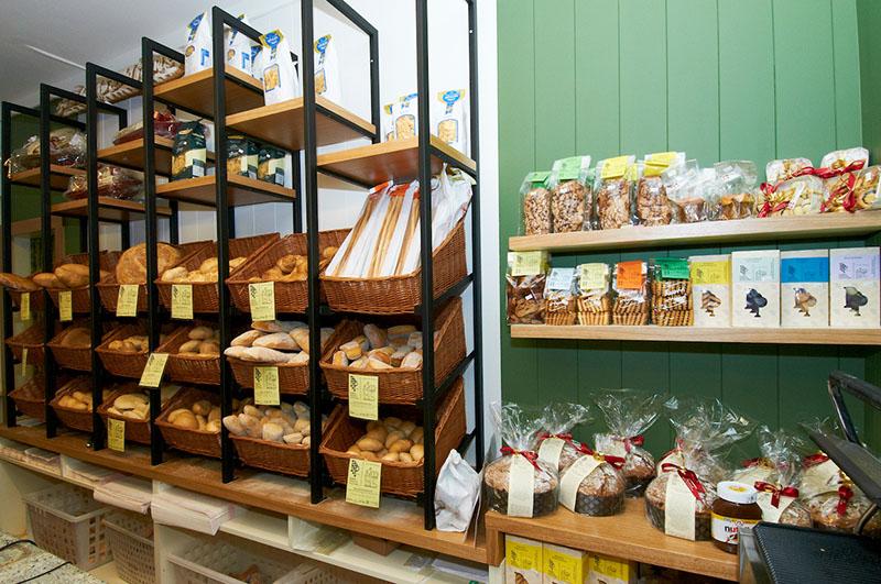Progetto e arredamento panetteria alimentari la casa del for Arredamento panetteria ikea