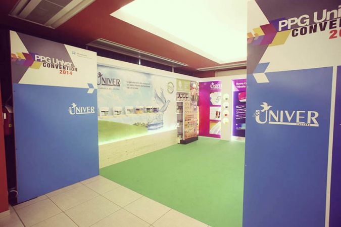 stand fiera convention PPG univer 2014 10